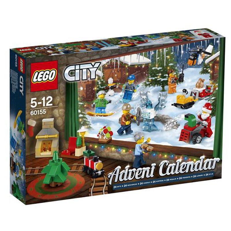 Lego Weihnachtskalender 2019.Lego City Adventskalender 2017